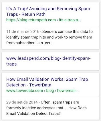 Resultados Orgânico de Pesquisa sem URL e sem Meta-Tag Description