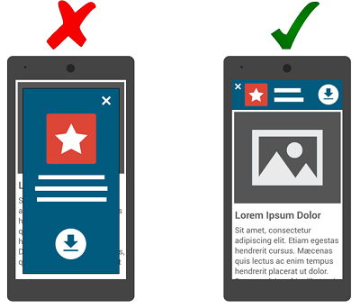 SEO Mobile: Interstitial Banner para Aplicativos