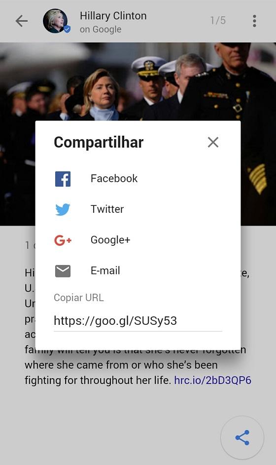 Google Posts: Compartilhamento nas Redes Sociais