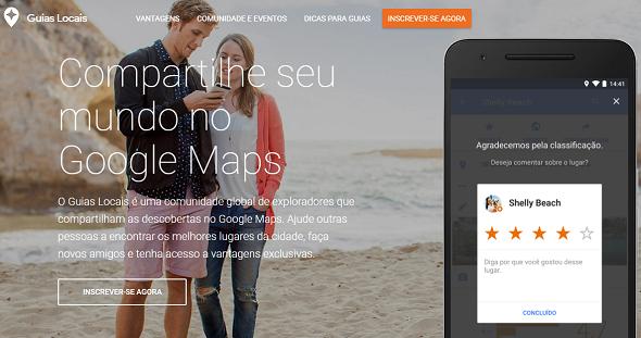 Projeto Google Guias Locais