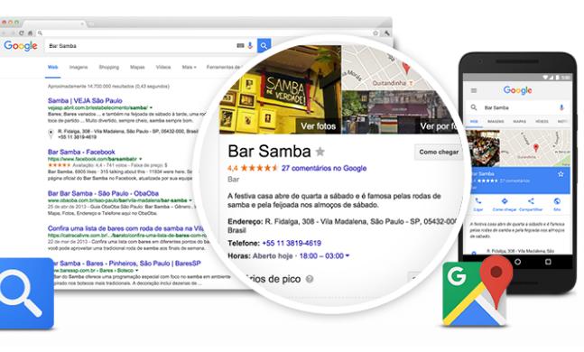 Google Meu Negócio: Resultados LocaisGoogle Meu Negócio: Resultados Locais
