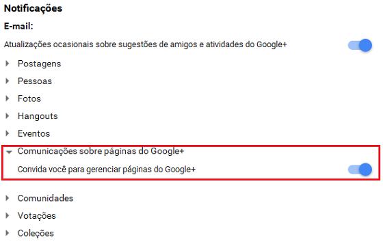 Configurar Google Plus para acessar Google Meu Negócio