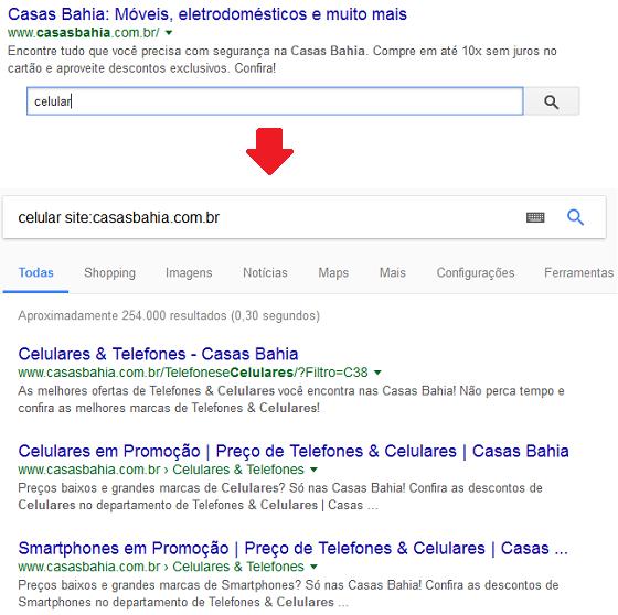 Sitelink Searchbox Google