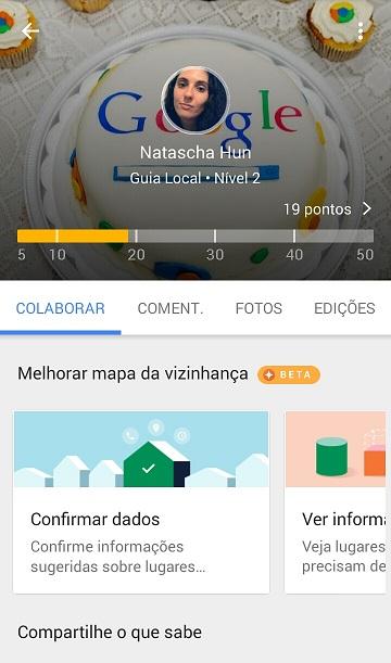 Projeto Google Guias Locais (Local Guide)