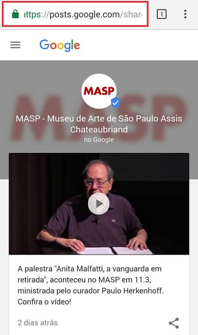 Google Posts MASP