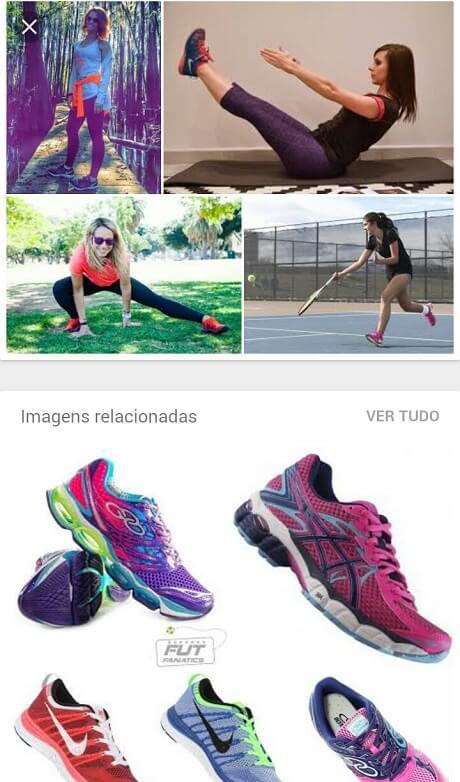 Ideias de estilo no Google Imagens
