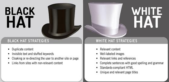 SEO Black Hat x White Hat