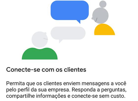 SEO Local: Botão Mensagens Google Meu Negócio